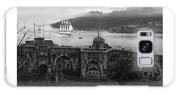 Juan Sebastian Elcano Arrival To The Port Of Ferrol Galaxy Case