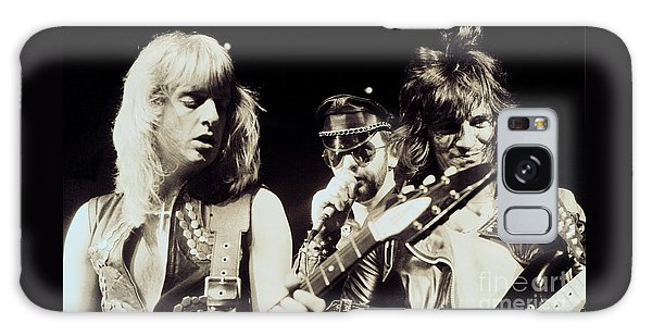 Judas Priest At The Warfield Theater During British Steel Tour - Unreleased And Never Seen  Galaxy Case