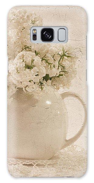 Jug Of White Lilacs Galaxy Case