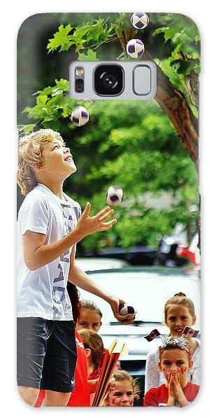 Juggling... Galaxy Case by Al Fritz