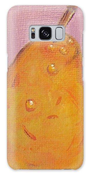 Juicy Pear Galaxy Case by Laurie Morgan