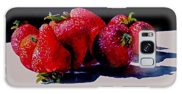 Juicy Strawberries Galaxy Case