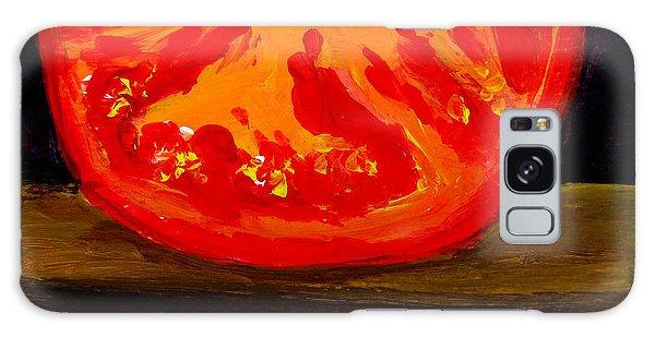 Juicy Tomato Modern Art Galaxy Case