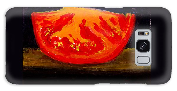 Juicy Tomato Modern Art Galaxy Case