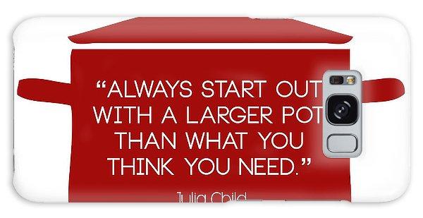 Julia Child's Larger Pot Galaxy Case