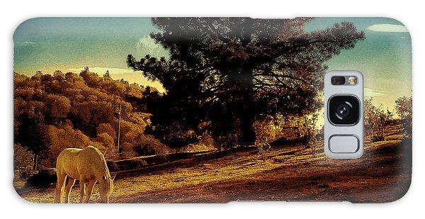 Springtime California Landscape Galaxy Case