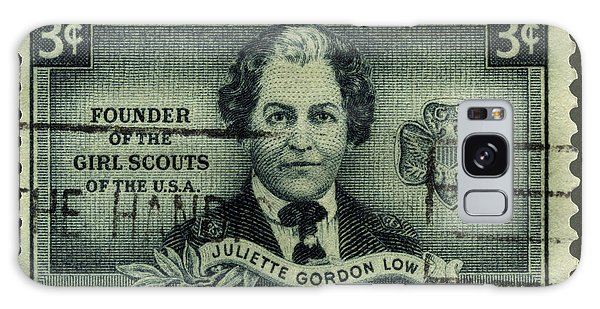 Girl Scouts Founder Juliette Gordon Low Postage Stamp Galaxy Case