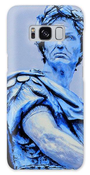 Julius Caesar Galaxy Case by Victor Minca