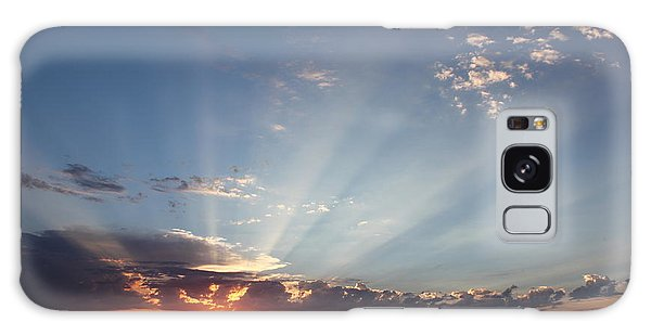 July Sky Show Galaxy Case by Erica Hanel
