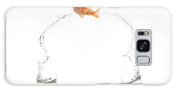 Goldfish Galaxy Case - Jump! by Jose Beut