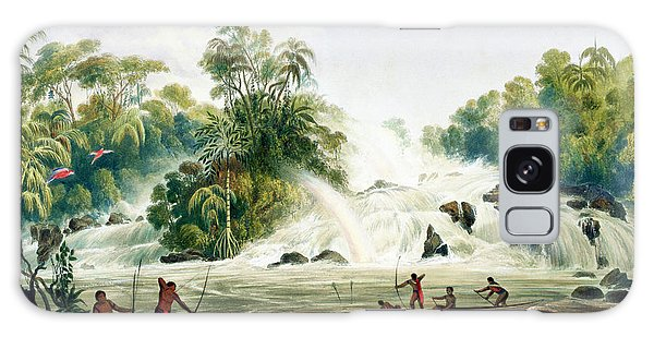 Waterfall Galaxy Case - Junction Of The Kundanama by Charles Bentley
