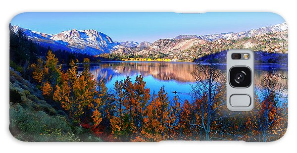 June Lake California Sunrise Galaxy Case