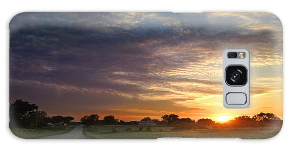 June Sky Osage County Galaxy Case by Rod Seel