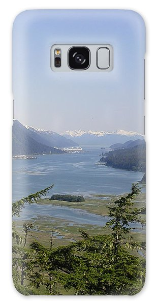 Juneau's Scenic Port Galaxy Case by Cindy Croal