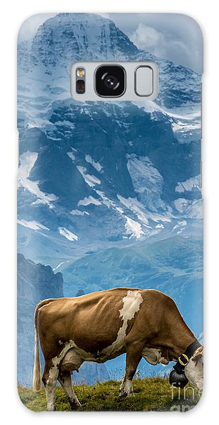Jungfrau Cow - Grindelwald - Switzerland Galaxy Case
