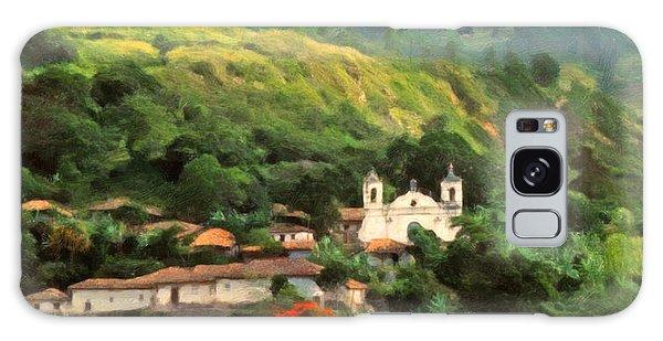 Jungle Church Honduras Galaxy Case