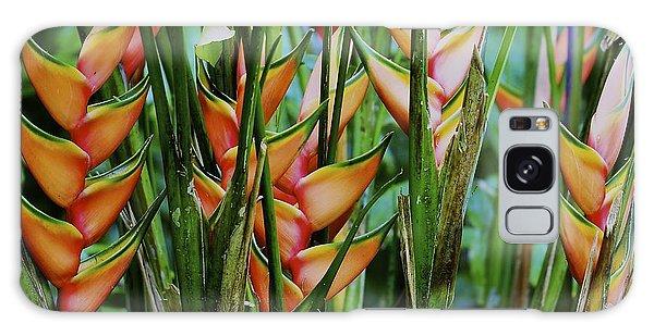 Jungle Flowers Galaxy Case