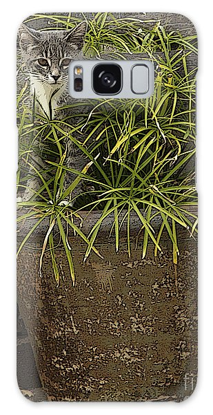 Jungle Kitty All Profits Go To Hospice Of The Calumet Area Galaxy Case