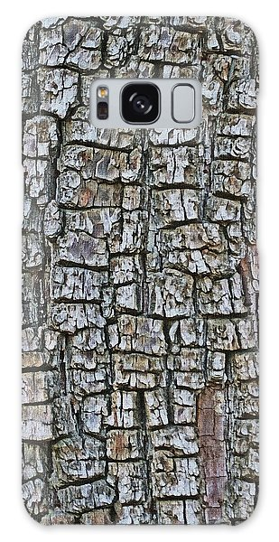 Juniper Bark- Texture Collection Galaxy Case by Tom Janca