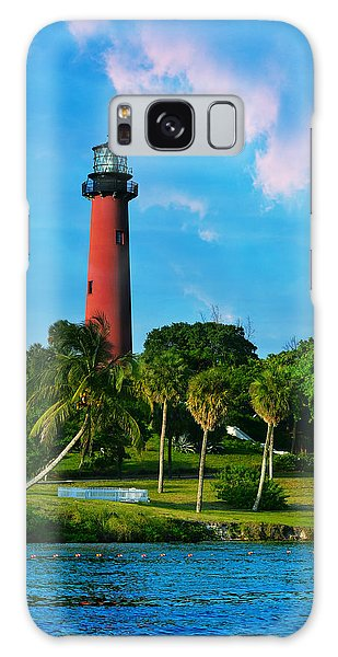 Jupiter Florida Lighthouse Galaxy Case