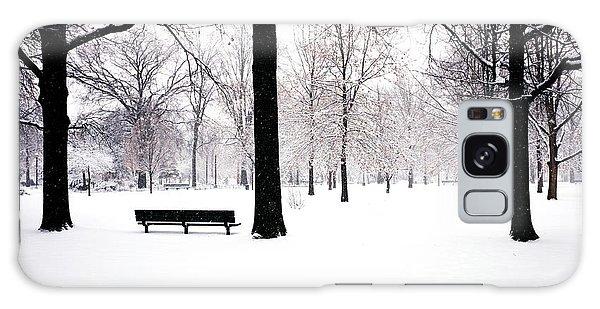 Jupiter Park In Snow Galaxy Case by Mark Garbowski
