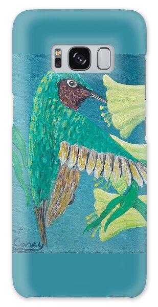Just A Hummingbird Galaxy Case
