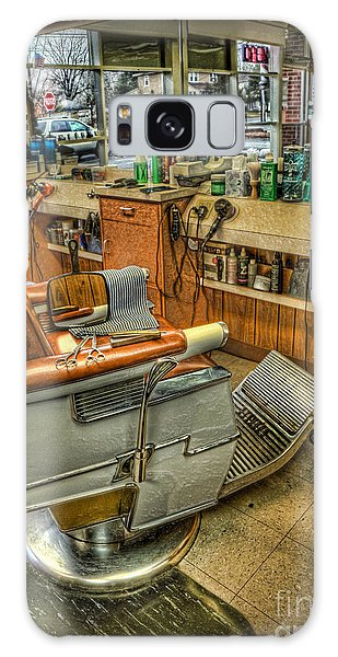 Just A Little Off The Top - Barber Shop Galaxy Case by Lee Dos Santos
