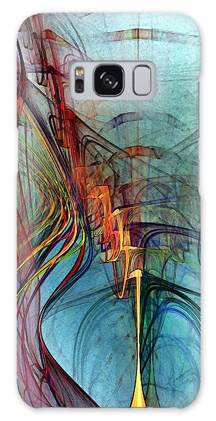 Just A Melody-abstract Art Galaxy Case