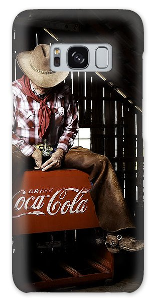 Galaxy Case featuring the photograph Just Another Coca-cola Cowboy 3 by James Sage
