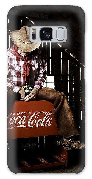 Just Another Coca-cola Cowboy 3 Galaxy Case