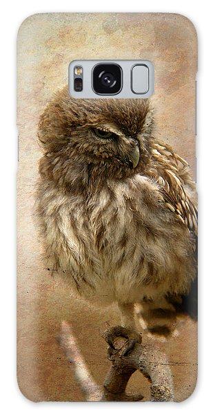 Just Awake Little Owl Galaxy Case