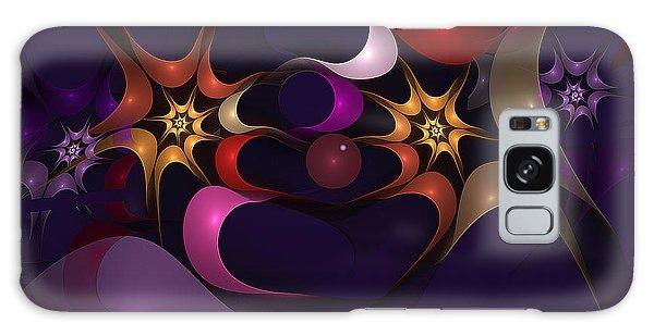Just Clowning Around Galaxy Case by Linda Whiteside