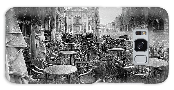 Cafe Galaxy Case - Just The Way I Dream My City #2 by Luca Rebustini