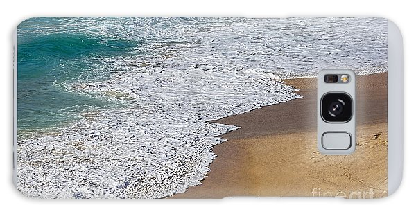 Just Waves And Sand By Kaye Menner Galaxy Case