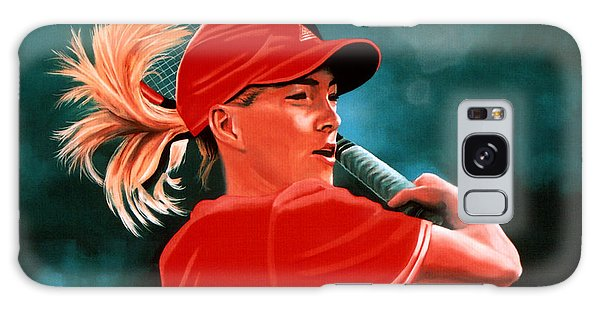 Justine Henin  Galaxy Case by Paul Meijering