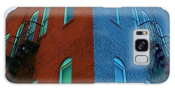 Juxtaposition - Old Building Galaxy Case