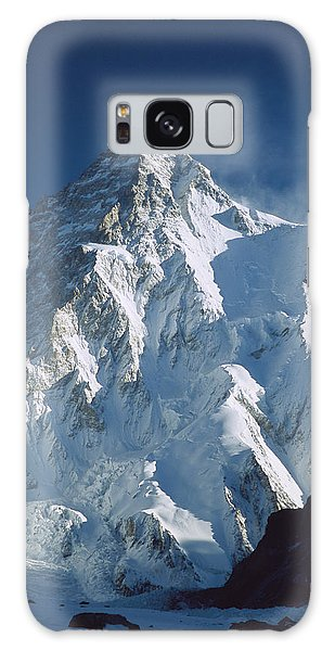 Galaxy Case featuring the photograph K2 At Dawn Pakistan by Colin Monteath