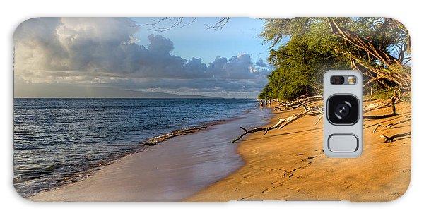 Kaanapali Beach Stroll Galaxy Case by Heidi Smith