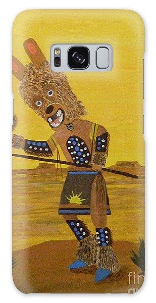 Kachina Brown Bear Dancer Galaxy Case