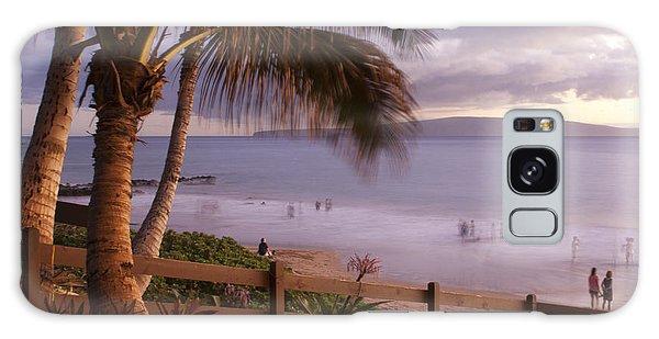 Kai Makani Hoohinuhinu O Kamaole - Kihei Maui Hawaii Galaxy Case
