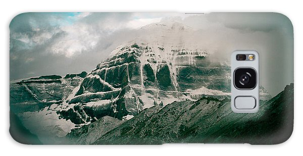 Kailas Mountain Tibet Home Of The Lord Shiva Galaxy Case