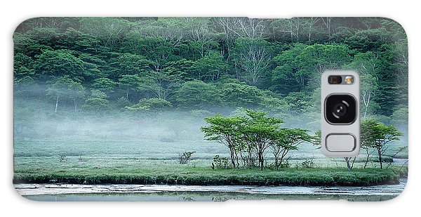 River Galaxy Case - Kakumanbuchi Marsh by Teruo Araya