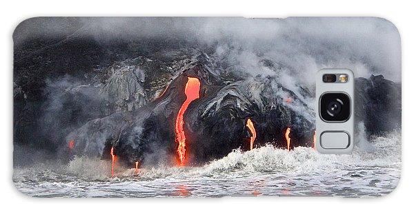 Lava Falls At Kalapana Galaxy Case