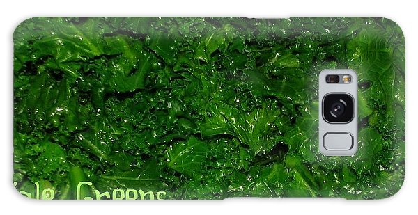 Kale Greens Galaxy Case