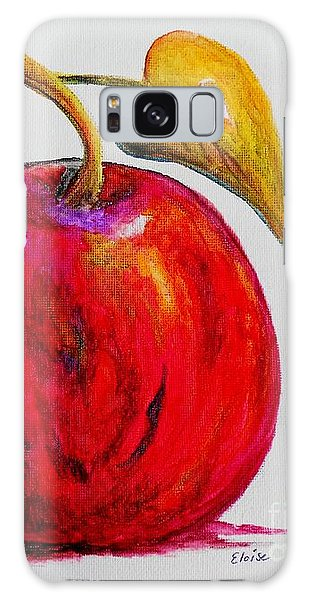 Kaleidoscope Apple -- Or -- Apple For The Teacher  Galaxy Case