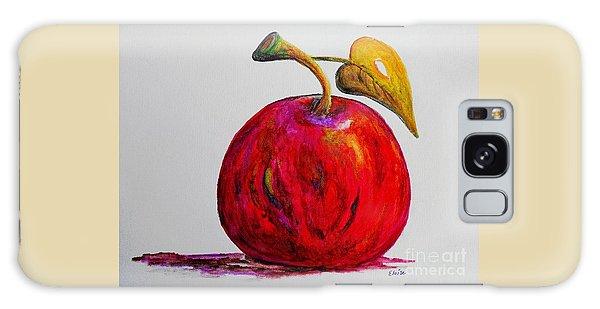 Kaleidoscope Apple -- Or -- Apple For The Teacher  Galaxy Case by Eloise Schneider