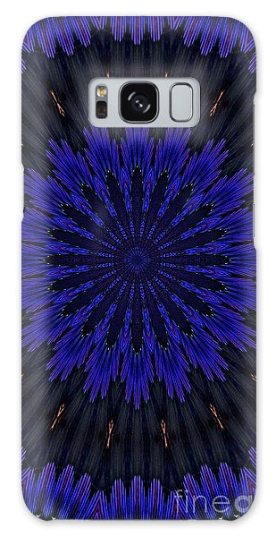 Kaleidoscope Feathers Two Galaxy Case