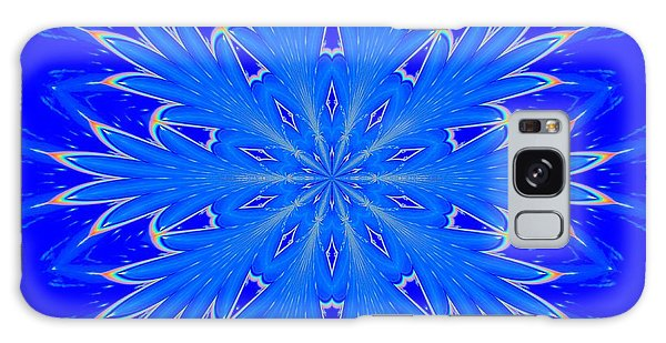 Kaleidoscope Snowflake Galaxy Case by Suzanne Handel