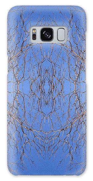 Kaleidoscope - Trees 2-1 Galaxy Case