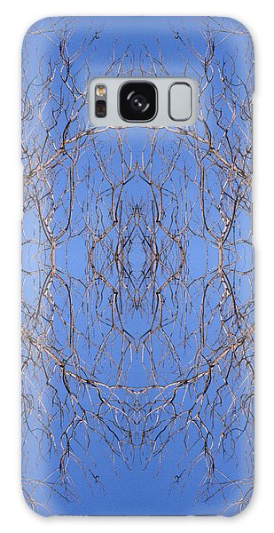 Kaleidoscope - Trees 1 Galaxy Case by Andy Shomock